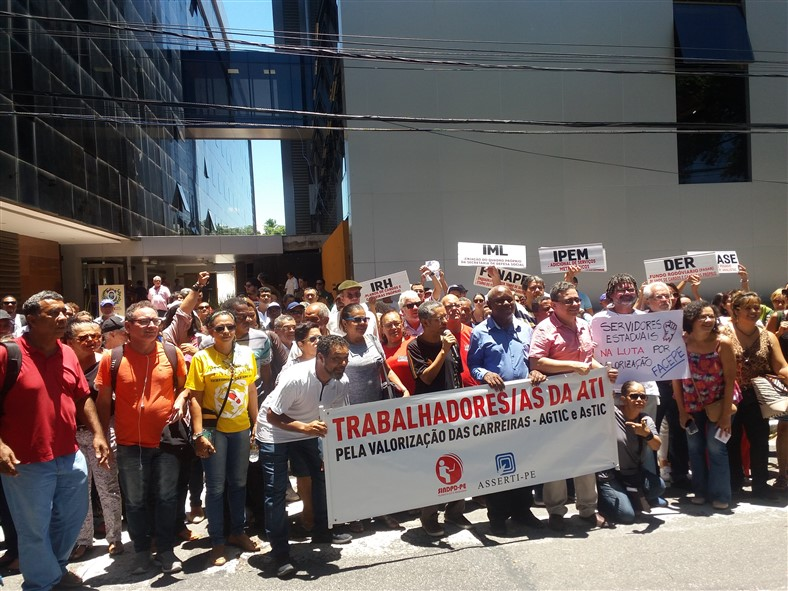 Paralisação de 24h - servidores exigem do Governo negociação da pauta de reivindicação