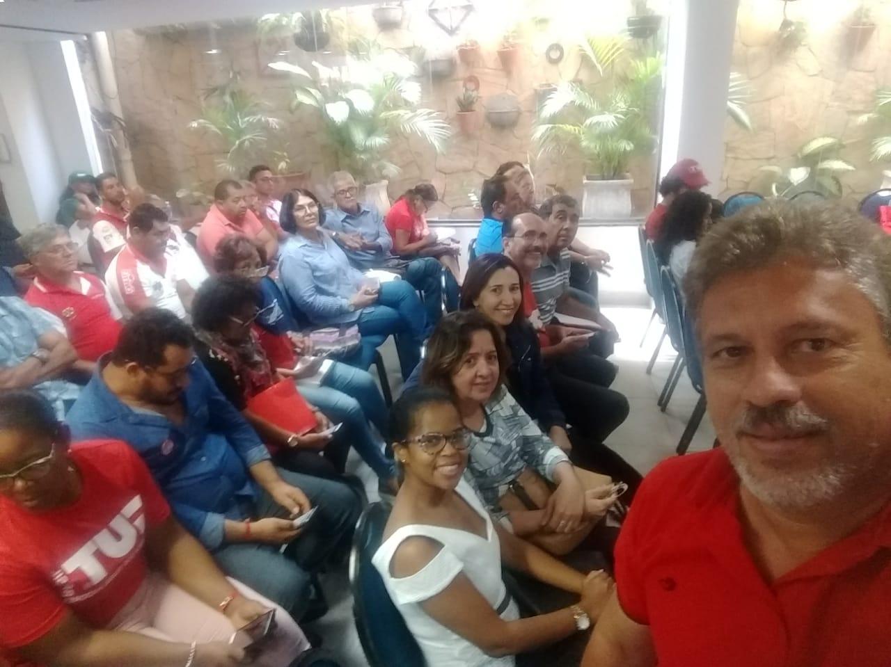 """Diretores do SINDSERPE participam da """"Plenária Interestadual da CUT Nordeste – 2"""""""