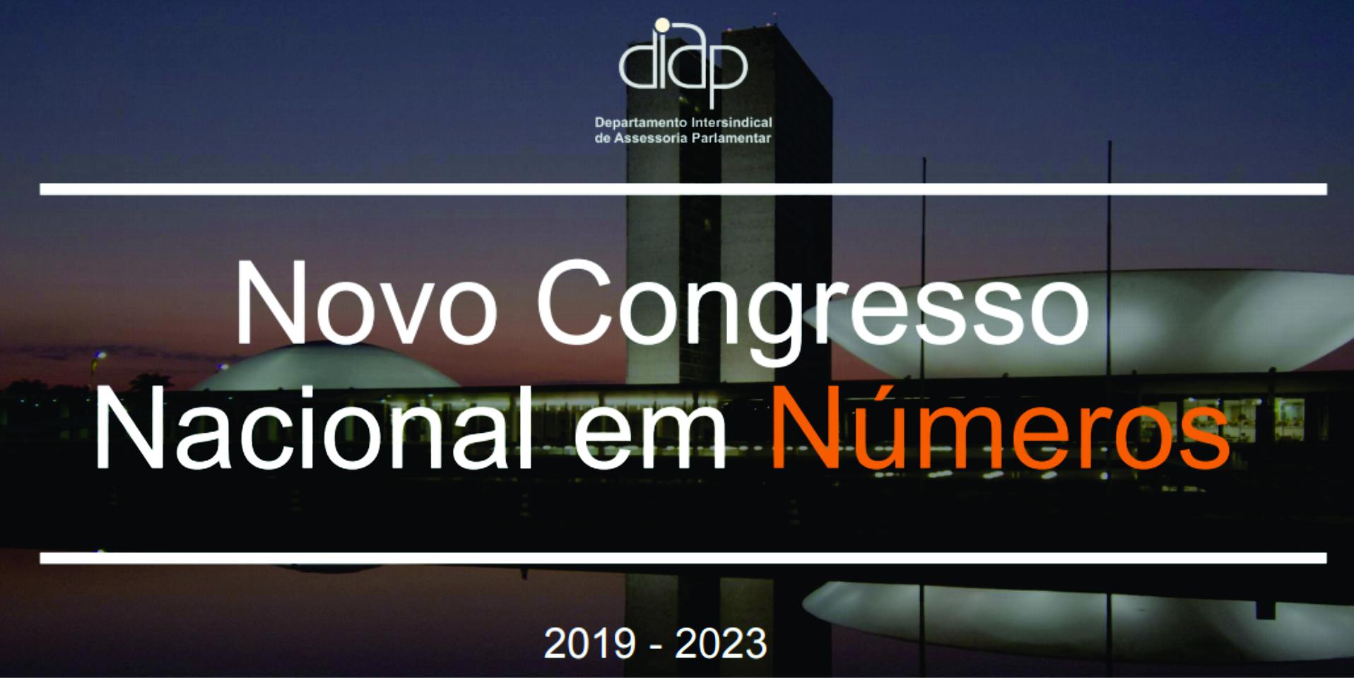 Diap lança documento sobre a nova composição do Congresso Nacional