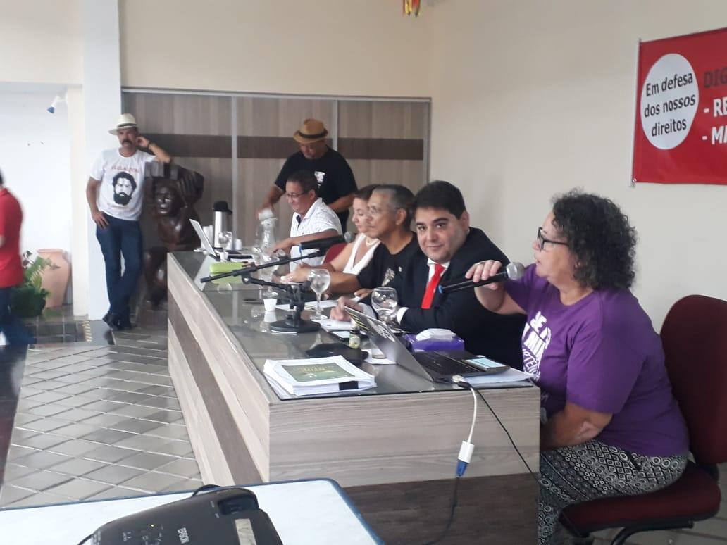 CUT - plenária realizou debate sobre a MP 873 e o Dia Nacional de Luta em 23/março