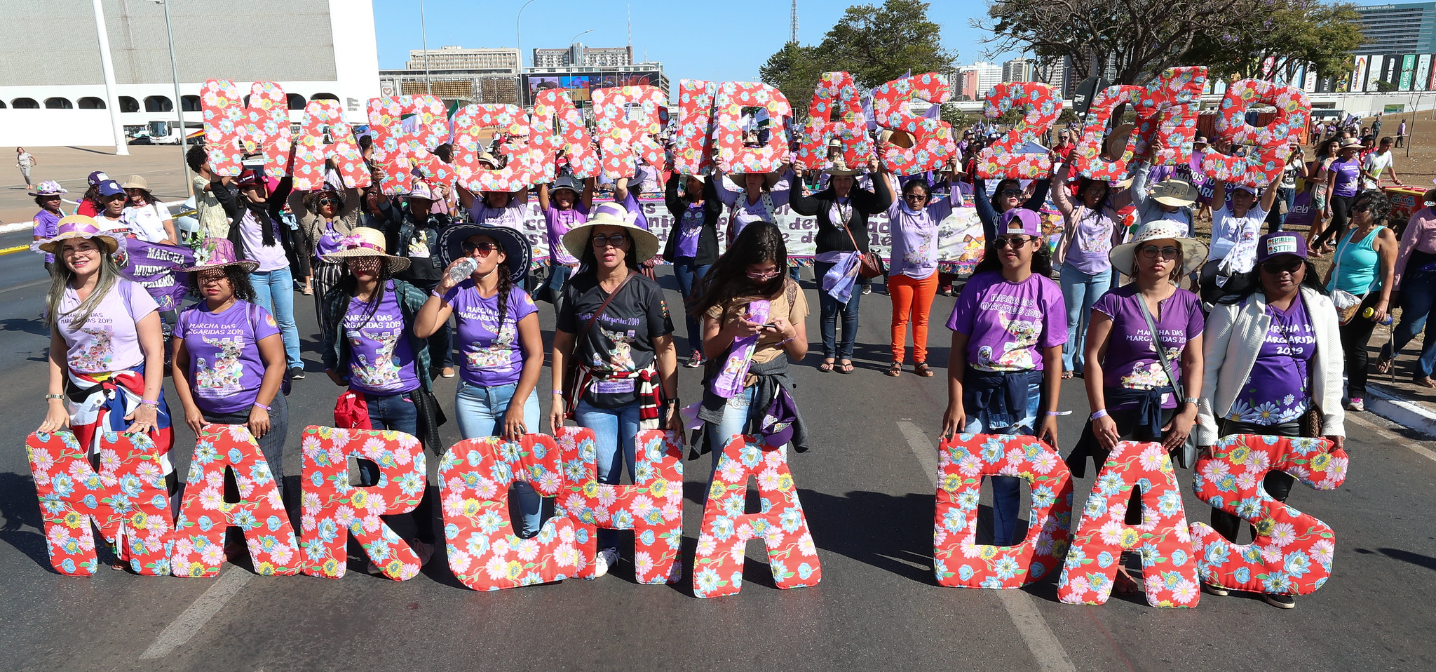 Pernambucanas rumo a Brasília na 6ª Marcha das Margaridas