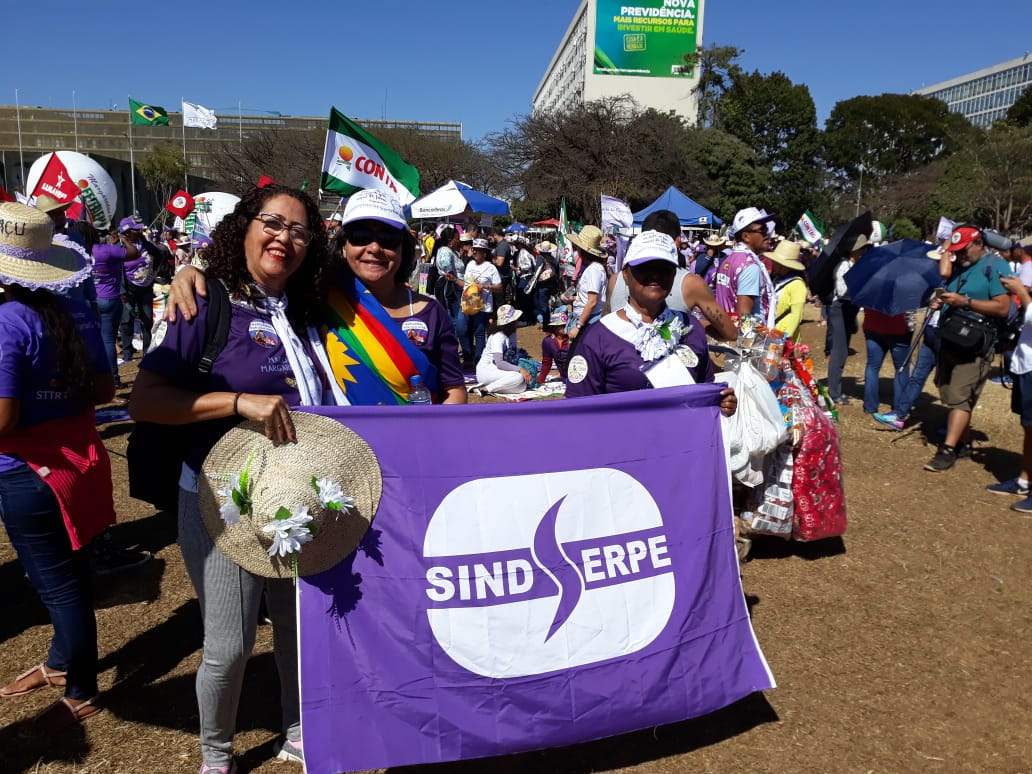 Brasília - SINDSERPE na Marcha das Margaridas