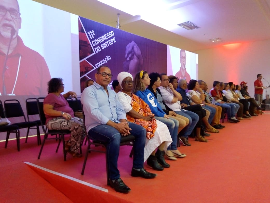 SINDSERPE presente no 11° Congresso do Sintepe