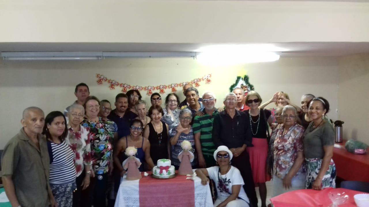 Confraternização reúne aposentados da base do SINDSERPE